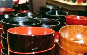 japanese laquerware bowls