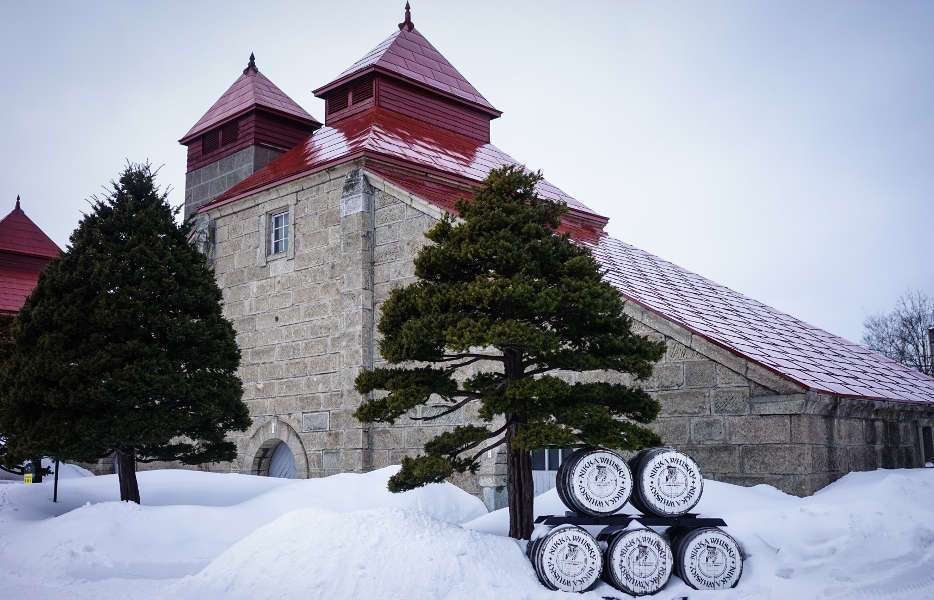 Nikka Whisky Distillery in Japan