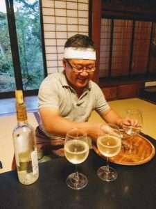Japanese Chef and Inn Owner