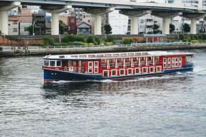 River Cruise Boat in Tokyo