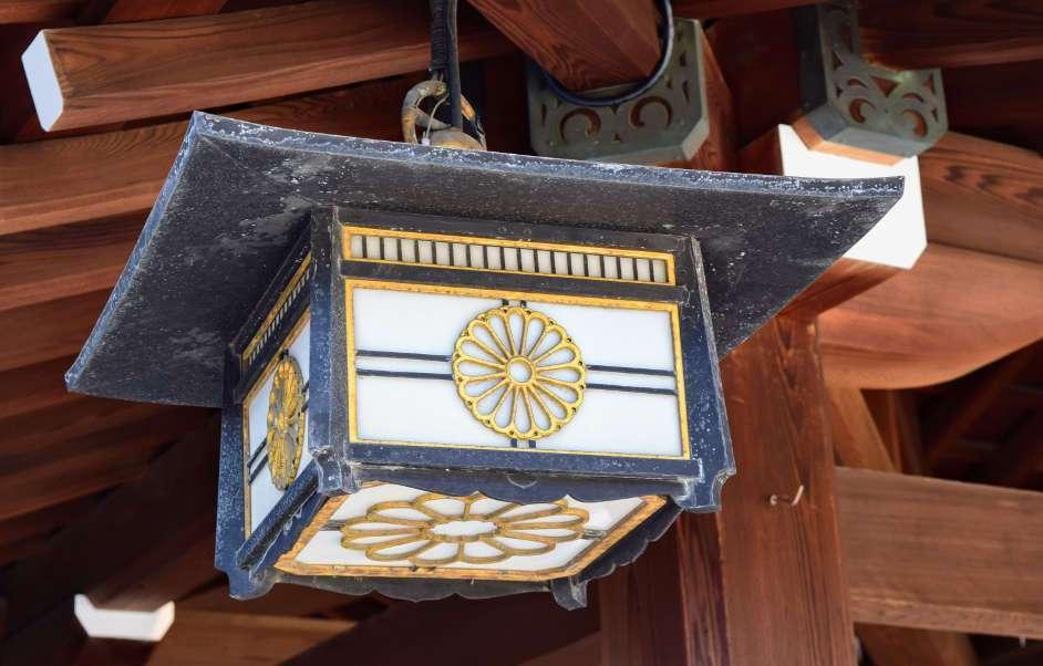 Light at Meiji Shrine