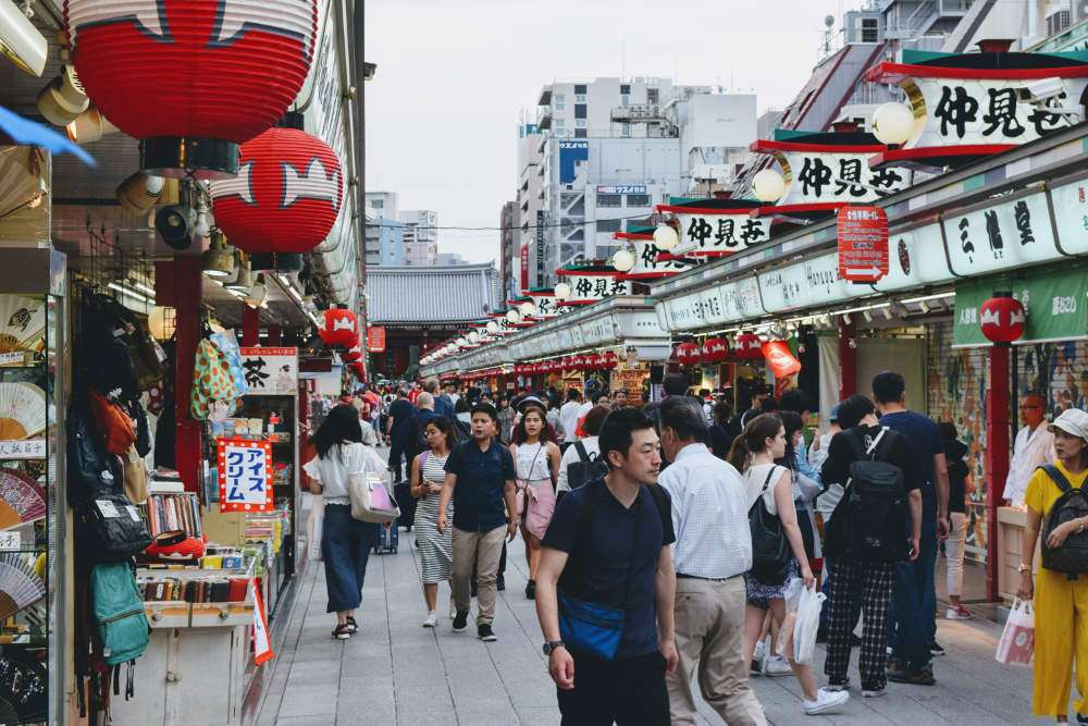 Nakamisedori, Asakusa Tokyo