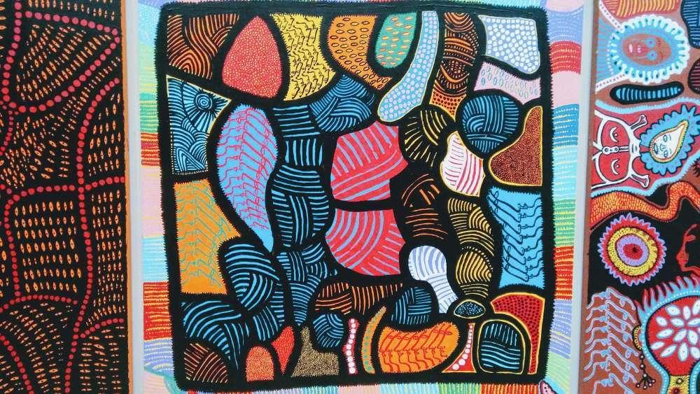 Yayoi Kusama Textile Art