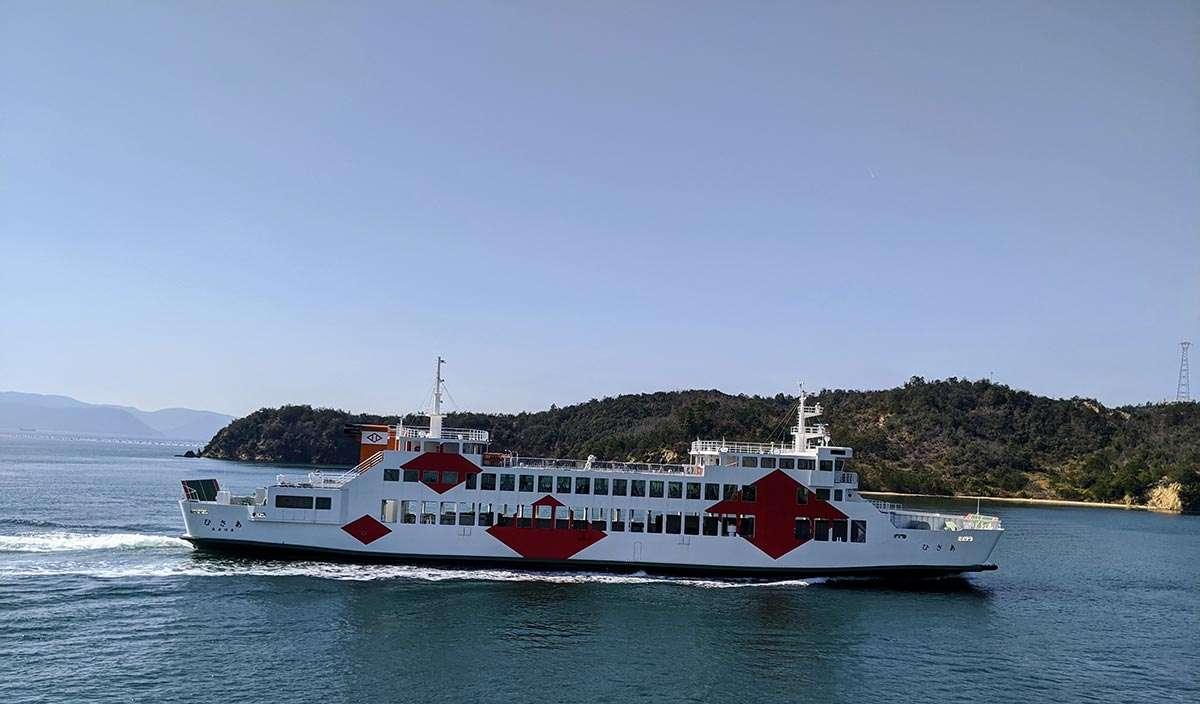 Naoshima Ferry Boat