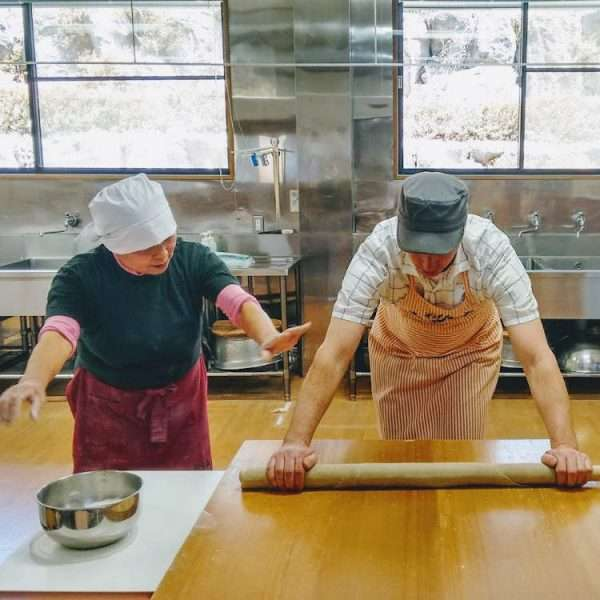 Making Soba Edible Japan