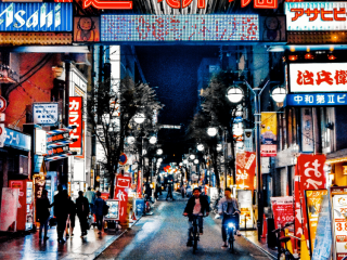 Dotonbori eat street Osaka