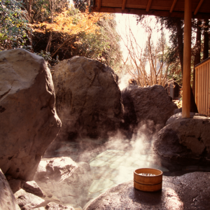 open air hot bath