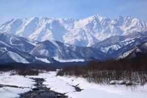 mountain in nagano japan