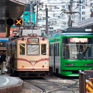 streetcars hiroshima