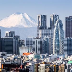 Tokyo with Mt. Fuji