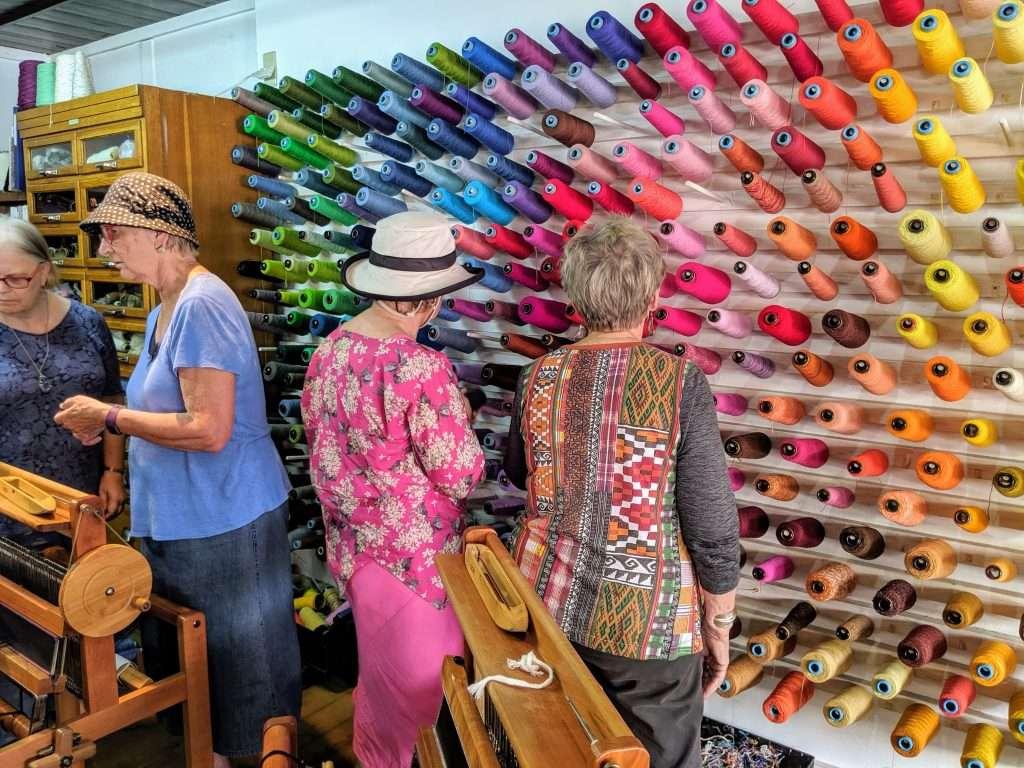 Textile Tour SAORI