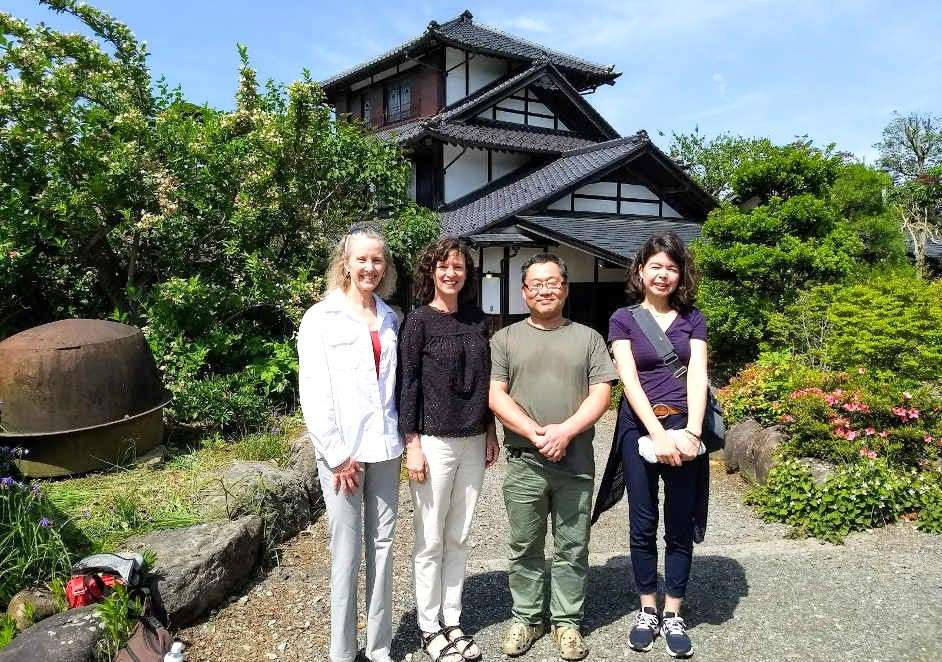 Japanese farm house visit